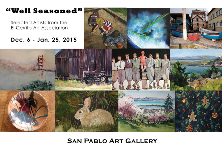 Well_Seasoned Show of 11 ECAA Artists
